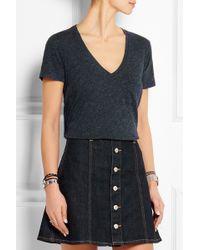 Madewell - Slub Cotton-jersey T-shirt - Lyst