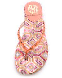 House of Harlow 1960 - Carter Flip Flops - Lyst