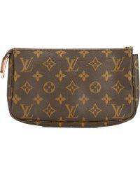 Louis Vuitton | Logo Printed Clutch Bag | Lyst