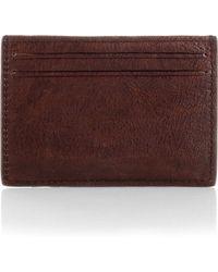 BOSS Orange - Leather Card Case 'Ruti' - Lyst