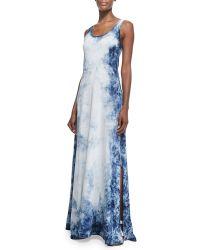 Ralph Lauren Black Label Peggy Tie-Dye Tank Dress - Lyst