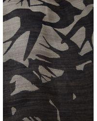 McQ by Alexander McQueen Swallow Print Scarf - Lyst