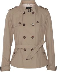 Day Birger et Mikkelsen - Palazzo Short Cotton-blend Trench Jacket - Lyst