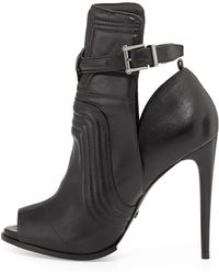 Schutz Poliany Cut Out Bootie - Lyst