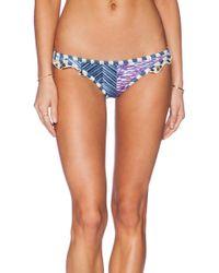 Tigerlily Blue Marlin Havana Bikini Bottom - Lyst
