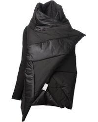 Gareth Pugh Asymmetric Padded Jacket - Lyst