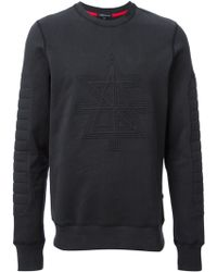 Surface To Air Embroidered Logo Sweatshirt - Lyst