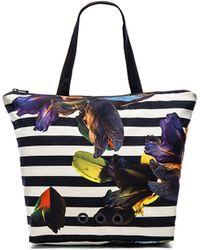 Osklen - Flower Stripetote Bag - Lyst