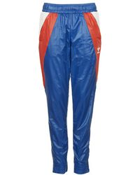 Topshop Archive Run Trackpants By Adidas Originals blue - Lyst