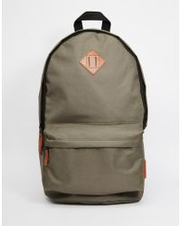Pull&Bear - Canvas Backpack - Lyst
