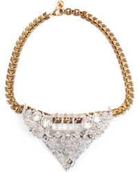 Lulu Frost 50 Year Necklace #27 gold - Lyst