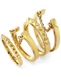 Vince Camuto - 'super Fine' Band Rings - Lyst