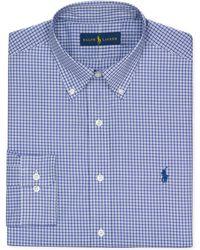 Ralph Lauren Polo Check Dress Shirt - Lyst