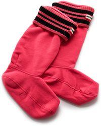 Hunter Sport Rib Cuff Boot Socks  - Lyst