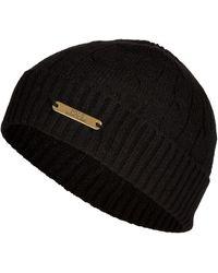 Polo Ralph Lauren Merino Blend Cable Cuff Hat - Lyst