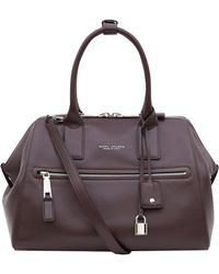Marc Jacobs - Medium Burgundy Incognito Smooth Leather Bag - Lyst