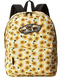 Vans Realm Backpack floral - Lyst