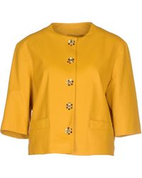 Moschino Cheap & Chic Blazer orange - Lyst