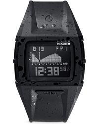 Nixon 'Lodown S' Tide Telling Digital Watch - Lyst