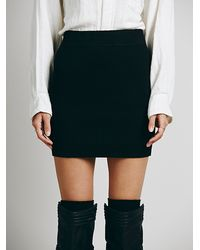 Free People Ribbed Sweater Bodycon - Lyst