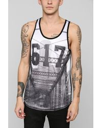 cceb1f347566e Urban Outfitters - Boston Area Code Mesh Tank Top - Lyst