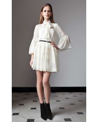 Alice By Temperley Fleur Skirt white - Lyst