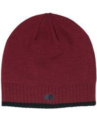 Raging Bull | Rb Wool Hat Claret | Lyst