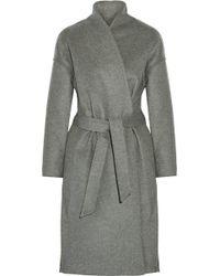 Totême  - Totême Chelsea Belted Wool-blend Felt Coat - Lyst