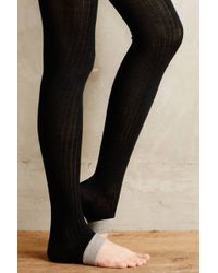 Hansel From Basel Black Stirrup Leggings - Lyst