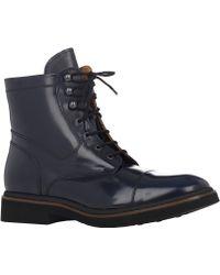 Doucal's Spazzolato Cap-toe Boots - Lyst