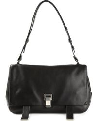 Proenza Schouler Courier Shoulder Bag - Lyst