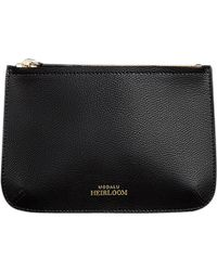 Modalu - Heirloom Leather Zip Pouch - Lyst