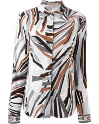 Emilio Pucci 'Zadig' Print Shirt - Lyst