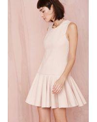 Nasty Gal Pink Chrissy Dress - Lyst