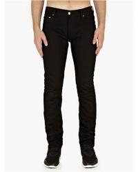 Matthew Miller Black Slim-Fit Cotton-Denim Jeans black - Lyst