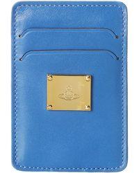 Vivienne Westwood Brompton Credit Card Holder - Lyst