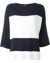 Twin Set - Three Quarter Sleeve Jumper - Lyst