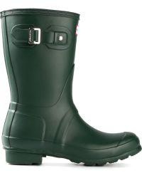 Hunter Short Wellington Boots - Lyst
