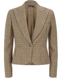 Ralph Lauren Blue Label Cabrillo Tweed Jacket - Lyst