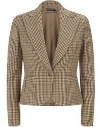 Ralph Lauren Blue Label - Cabrillo Tweed Jacket - Lyst