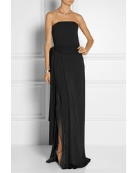 Reed Krakoff Crepe and Chiffon Gown - Lyst