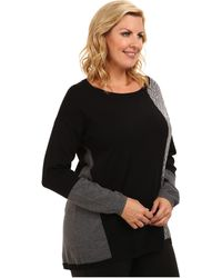DKNY Plus Size Pieced Animal and Color Block Tunic - Lyst