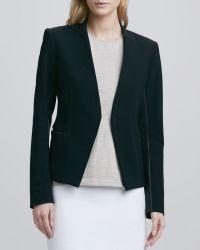 Theory - Lanai Leathertrim Jacket - Lyst