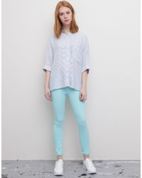 Pull&Bear Push-Up Skinny Trousers - Lyst