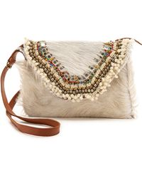 Antik Batik Bjorn Cross Body Bag - White - Lyst