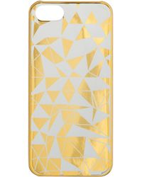 J.Crew Clear Printed Case For Iphone® 5/5S - Lyst