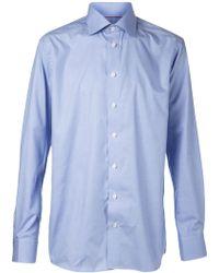Eton Blue Classic Shirt - Lyst