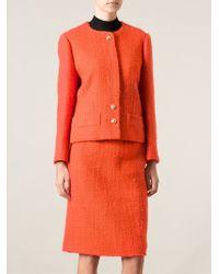 Céline Vintage Textured Skirt Suit - Lyst