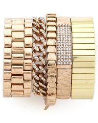 Samantha Wills - Your Warm Whispers Bracelet Set - Gold - Lyst