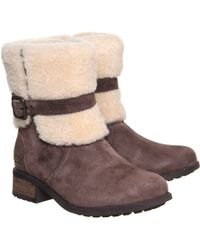 Ugg Blayre Buckle Boot - Lyst